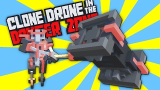 Hammer Only Challenge - Titanium Level 15! - Clone Drone in the Danger Zone Alpha Gameplay