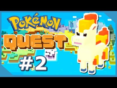 THIS GAME IS HARD!! - POKEMON QUEST GAMEPLAY #2 (NINTENDO SWITCH)
