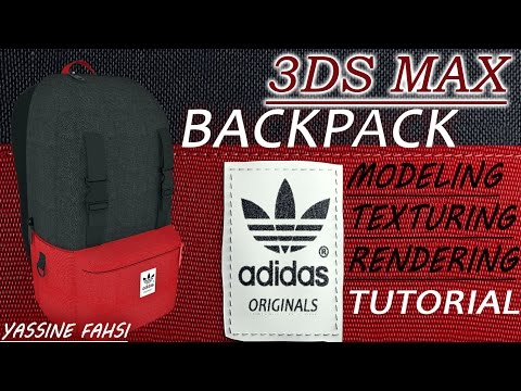 3DS MAX | BACKPACK | MODELING | TUTORIAL