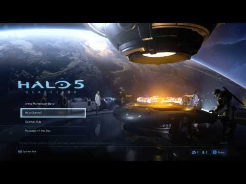 Halo 5: Guardians Beta - Menu Music