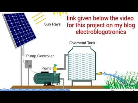 DIY Solar PV water pumping system