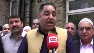 Imran Hussain election campaign in #Bradford