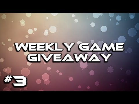 Game Giveaway Week 3 (CLOSED) + Week 2 Winner