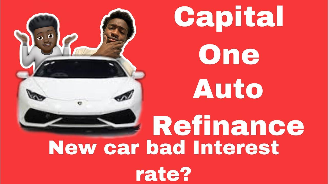 Captial One Auto Loan Refinance Process