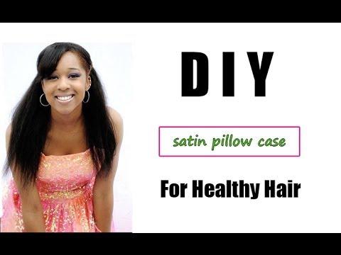 DIY Pillowcase for Healthy Hair