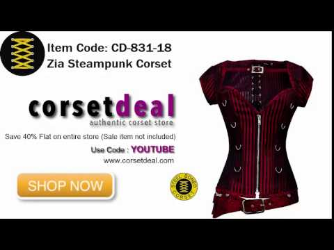 Zia Steampunk Corset from Corsetdeal.com   Save upto 70%