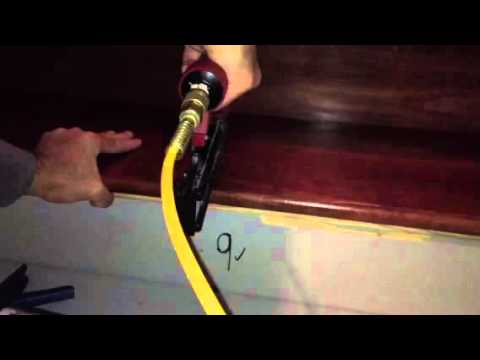 Installing stair treads