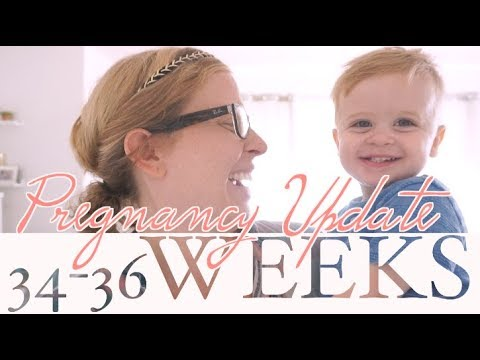 Preterm Labor Scare! | 34-36 Weeks Pregnancy Update