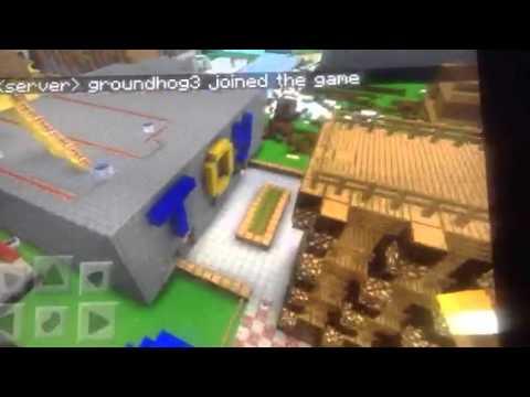 Minecraft ipad- best creative world ever Minecraft PE!