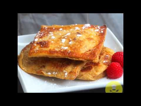 Bacon Stuffed French Toast | GrubHub | Food