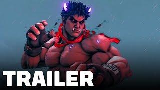 Street Fighter 5 - Kage Reveal Trailer