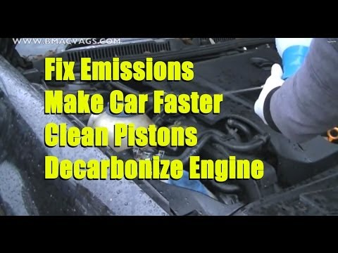 How to Decarbonise your Engine with Tap Water