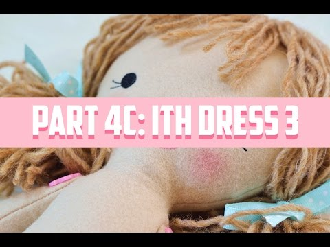 ITH Doll Tutorial PART 4C-Tiered Lace Dress