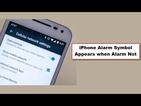 iPhone Alarm Symbol Appears when Alarm Not on [Fixed]