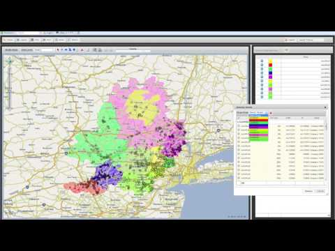 Collaborative, Cloud-based Sales Territory Mapping Solution