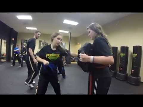 Teen Kickboxing & Krav Maga at Premier Martial Arts in Manassas, VA