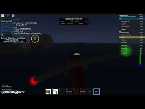 How to fly a plane in dynamic flight simulator in roblox!