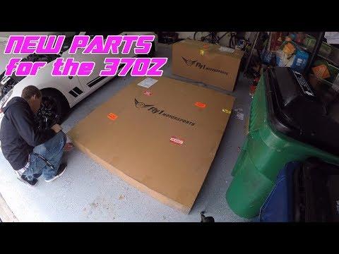 370Z - Hood, Fenders, and Active Aero, Oh My!