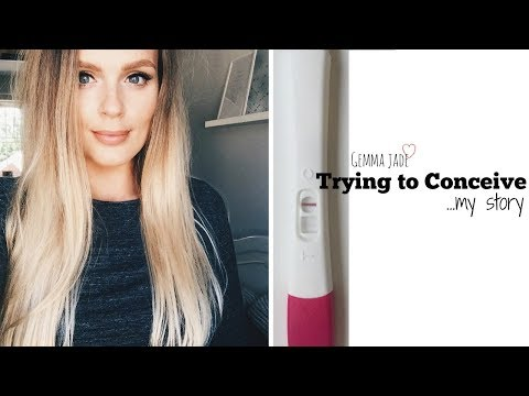 TRYING TO CONCEIVE WITH LONG CYCLES & FINDING OUT I'M PREGNANT | GEMMA JADE