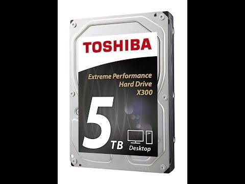 5 TB Toshiba Hard Drive Overview