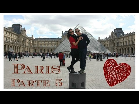 VLOG - Paris, Museu do Louvre e Notre-Dame
