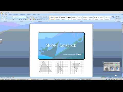 Import PDF Word and Publisher Files into Smart Notebook