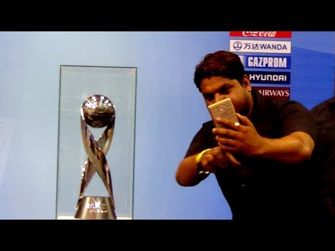 FIFA U-17 WORLD CUP INDIA 2017 | Public Display of the Trophy | Junior Football World Cup