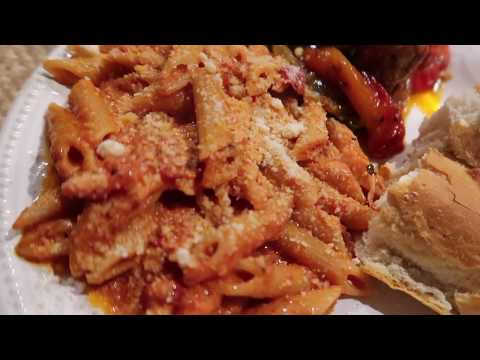 Penne alla Vodka with Hot Italian Sausage