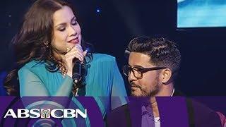 "Lea Salonga sings ""Sana Maulit Muli"" with Aga Muhlach"