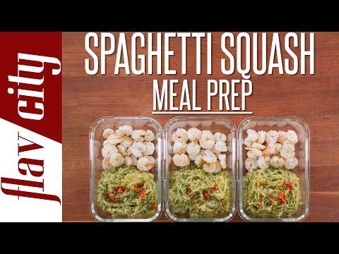 Spaghetti Squash Meal Prep - Tasty Weight Loss Recipes