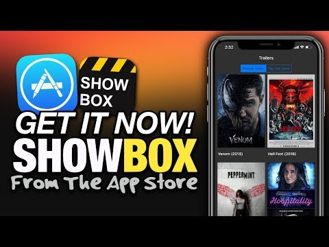 Get It NOW! SHOWBOX FREE MOVIES Available In The APP STORE - iOS 12