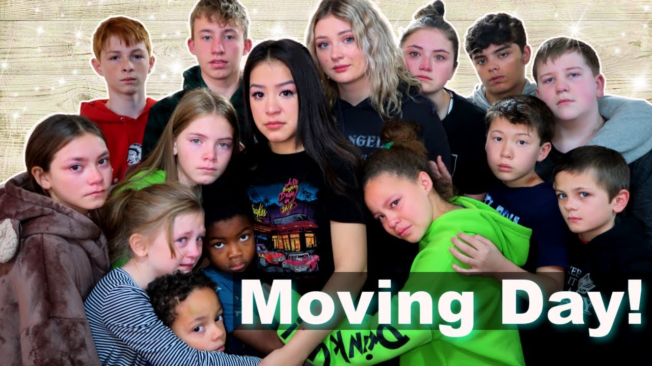 Moving Day!   We Are Going Go Miss Them!   New Place Tour!
