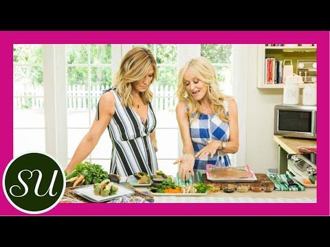 Summer Rolls Recipe   Tofu And Avocado Vegan Summer Rolls With Spicy Peanut Sauce