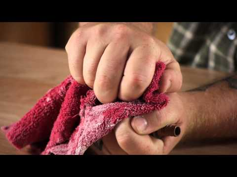 How to Open Stuck Plumbing Shut-Offs : Plumbing Repair