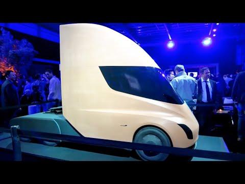 Tesla Semi Design Model Tesla Semi Event