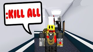 HACKING IS THE ONLY WAY TO ESCAPE THE MURDERER... (Roblox)