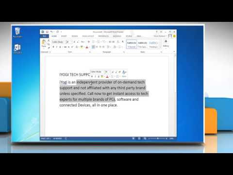 How to get a word count from   Microsoft Word 2013 document