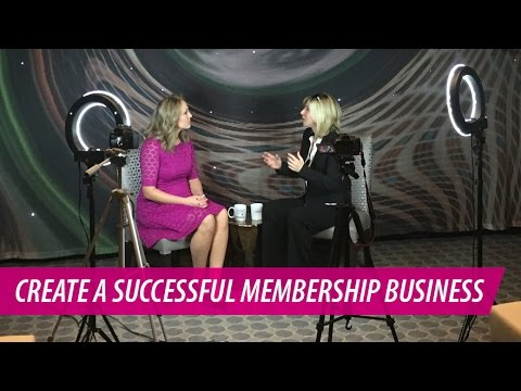 How to Create a Successful Membership Business | Jennie Enterprise with Kelsey Humphreys