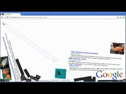 Google Gravity (funny easter-egg)