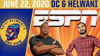 Ariel Helwani's MMA Show (June 22, 2020) | ESPN MMA