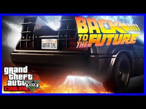 GTA 5 Back To The Future 3 Delorean Car Build