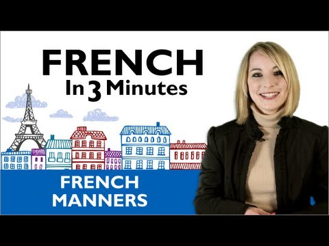 Learn French - Thank You & You're Welcome in French