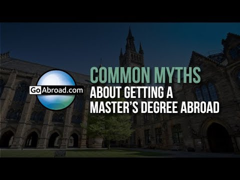 4 Common Myths About Getting a Master's Degree Abroad 🎓