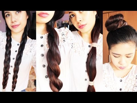 My Hair Routine Before Going To Bed and My favorite Hairstyles for Sleeping- Beautyklove