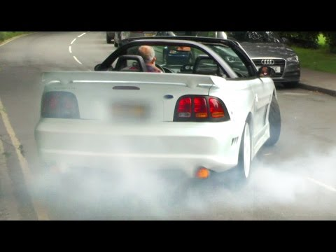 CRAZY LOUD Saleen Mustang - No crowds harmed