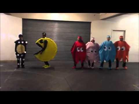Halloween Pacman - human edition