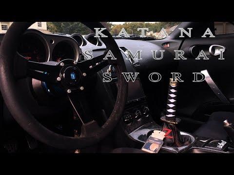 [DIY] Kei Project Katana Sword Shift Knob Install!- Nissan 350z