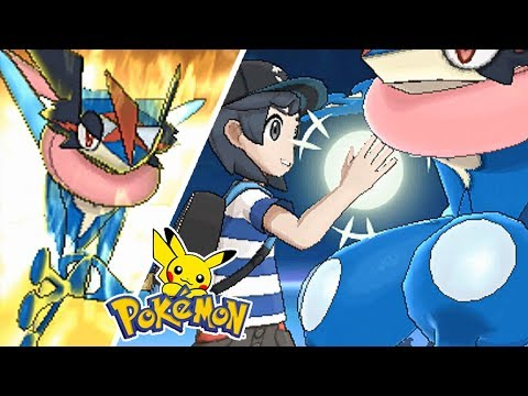 What if: Ash-Greninja use All Exclusive Z-Moves (Funny animation) [Fake]