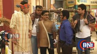 Serial bhabhi ji ghar par hai on location Behind The scene masti ,भाभी जी घर पर है ऑन लोकेशन