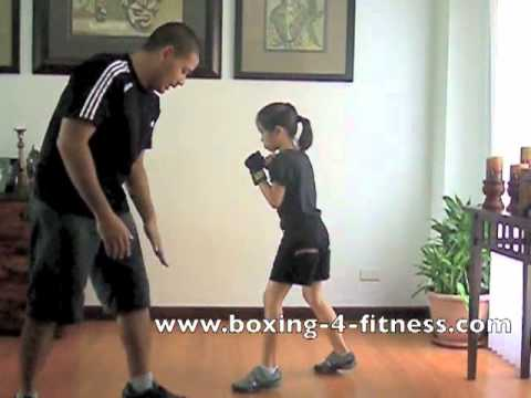 Kids Boxing - Basic boxing stance and footwork